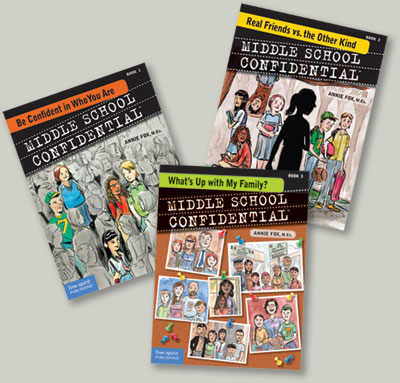 Middle School Confidential Books
